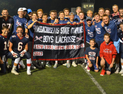 L-S Boys Lacrosse Raises New Banner for 2017 Championship